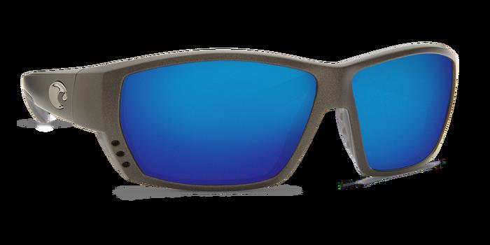 2d64337dc08 Costa Del Mar Tuna Alley Matte Gray Blue Mirror 580G Polarized Sunglasses