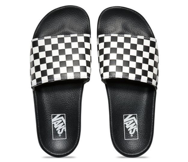 Vans Men's Slide-On Checkerboard Sandals