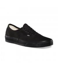 Van's Authentic Black to the Floor Shoe