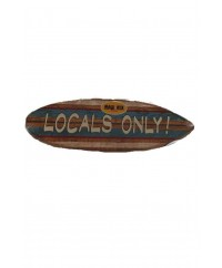 "Maui Nix ""Locals Only"" Wall Sign"