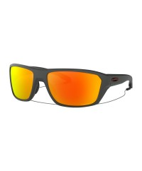 Oakley Split Shot Matte Heather Grey Prizm Ruby Polarized Sunglasses
