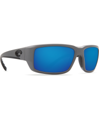 Costa Del Mar Fantail Matte Gray/Blue Mirror 580G Sunglasses
