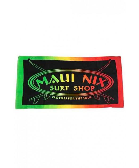 Maui Nix Maui Rasta Beach Towel</a>