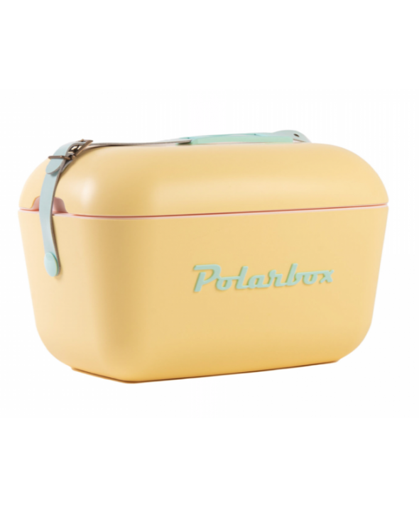 Polarbox Classic Yellow with Cyan 13QT Cooler</a>