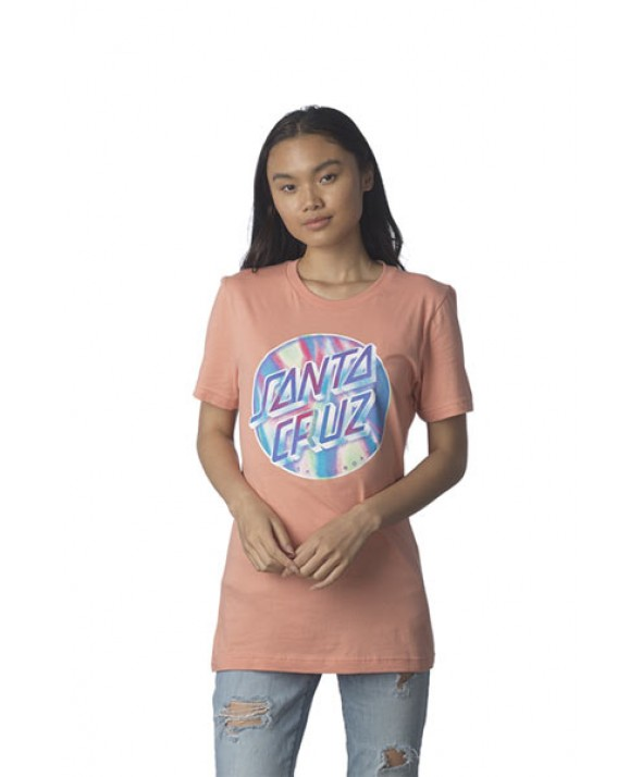 Santa Cruz Women's Iridescent Dot Boyfriend Short Sleeve T-Shirt</a>