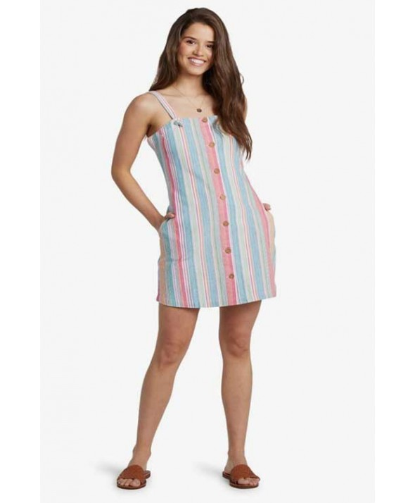 Roxy Women's Easy Dreams Buttoned Dress</a>