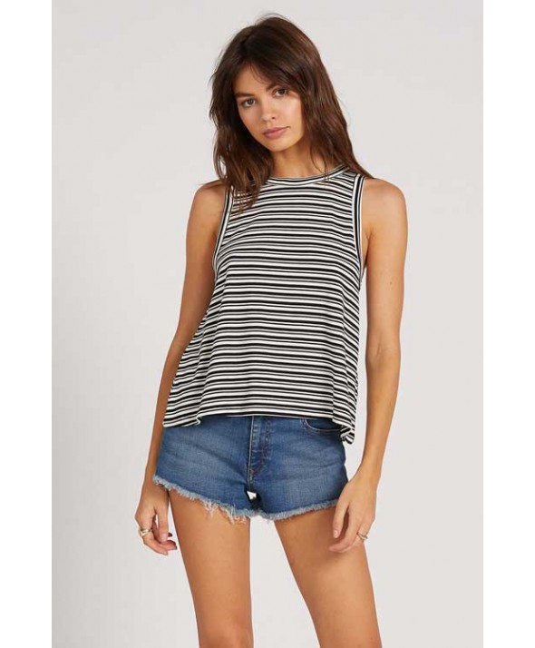 Volcom Women's WHAT SHE SAID STRIPED TANK</a>
