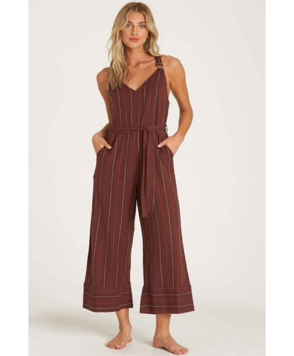 Billabong Women's Bella Day Jumpsuit Overalls</a>
