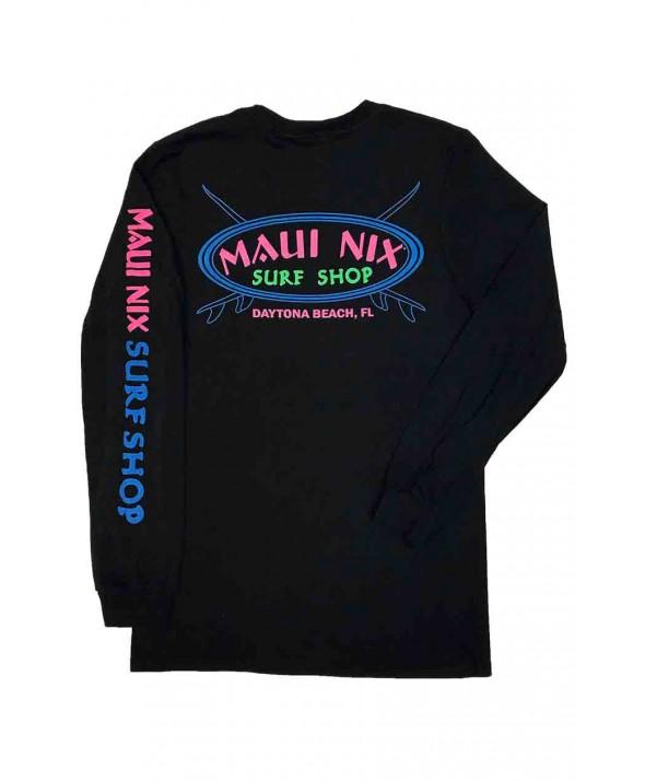 Maui Nix Neon Cross 100% Long Sleeve Tee</a>