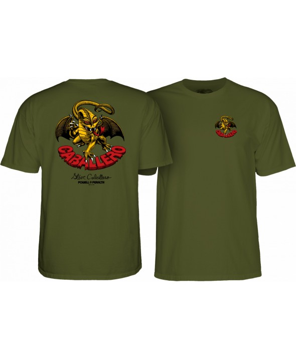 Powell Peralta Cab Dragon II T-shirt Military Green</a>