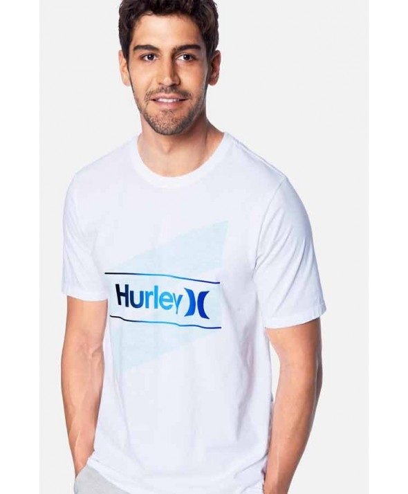 Hurley Men's One & Only Slashed Tee