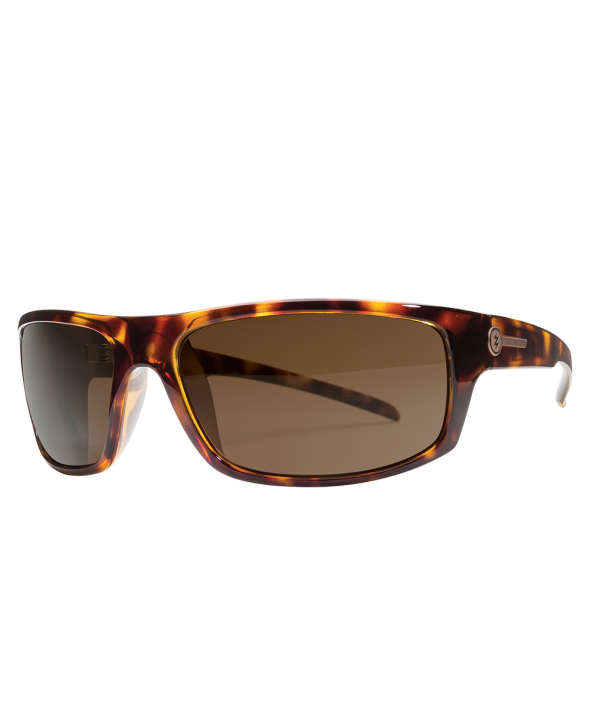 Electric Tech One Gloss Tortoise/Bronze Polarized Sunglasses</a>