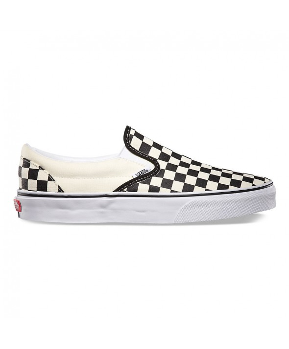 Van's Classic Black and White Checkerboard Slip-On</a>