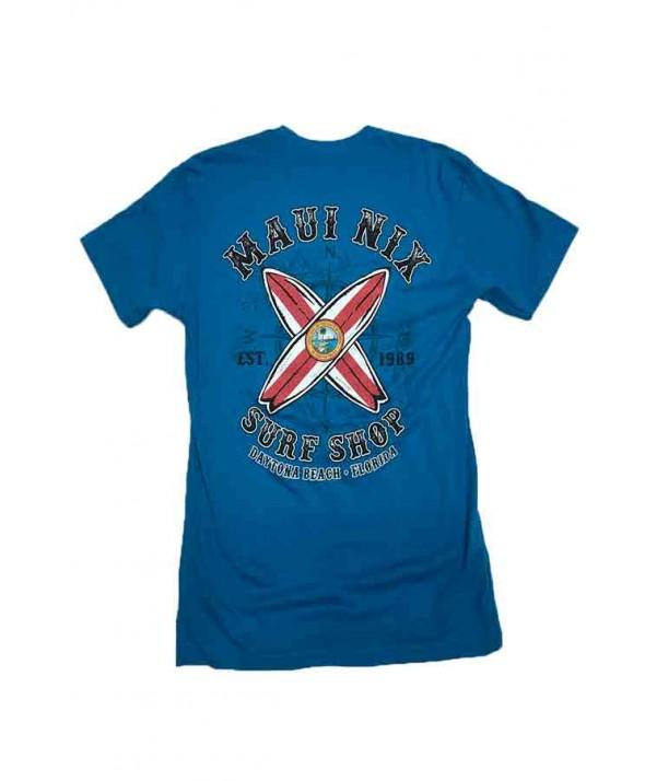 Maui Nix Florida Flag Short Sleeve Tee</a>