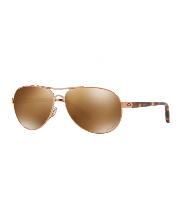 Oakley Feedback Rose Gold Sunglasses</a>