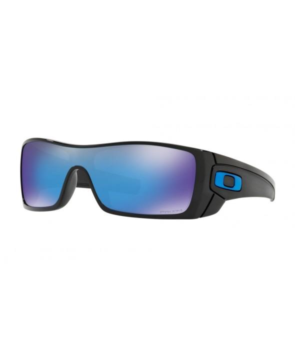 Oakley Batwolf Polished Black Prizm Sapphire Sunglasses</a>