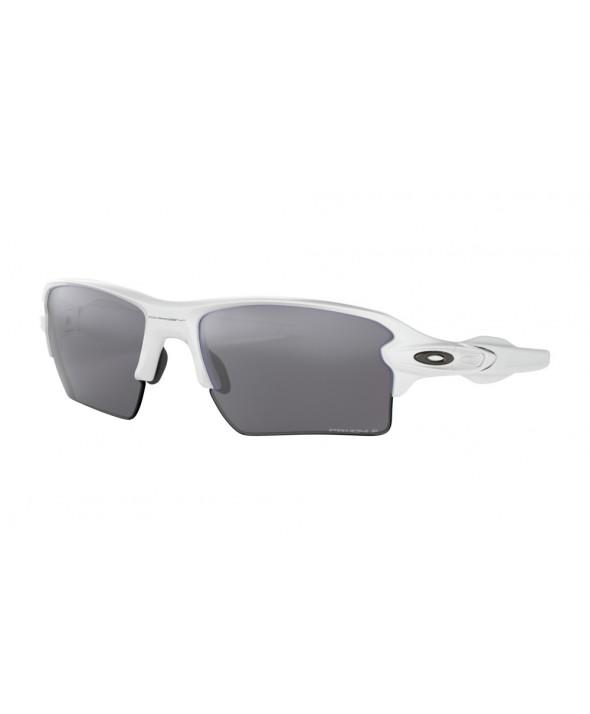 Oakley Flak 2.0 XL Polished White Prizm Polarized Sunglasses</a>