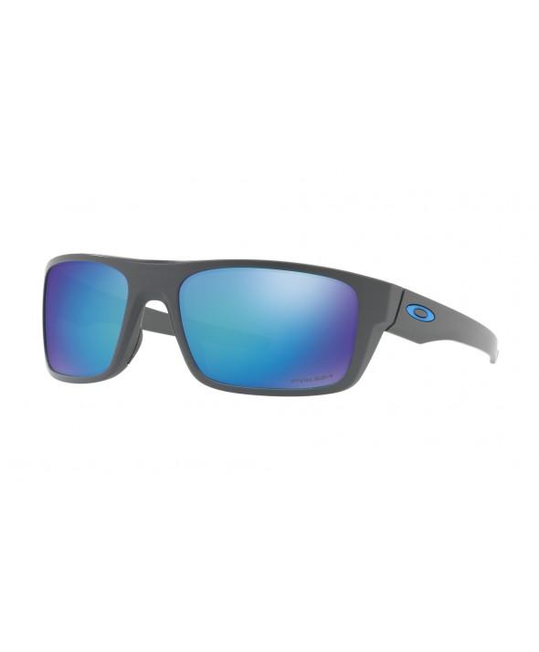 Oakley Drop Point Matte Dark Gray Prizm Sapphire Polarized Sunglasses</a>