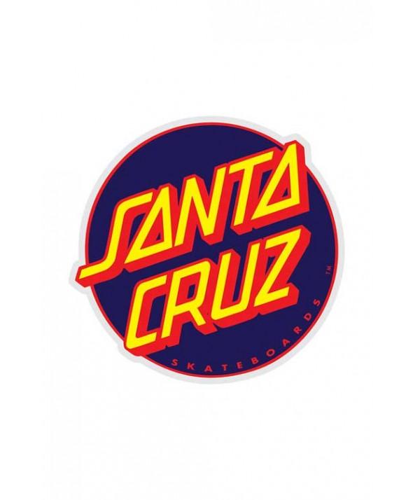 Santa Cruz Other Dot 3 Inch Sticker Navy/Red</a>