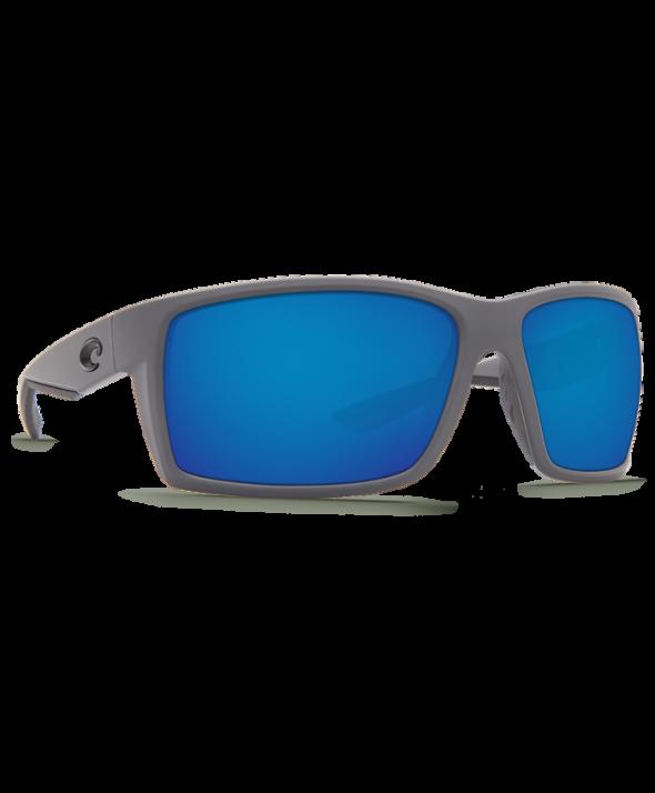 Costa Del Mar Reefton Matte Gray/Blue Mirror 580G Sunglasses</a>