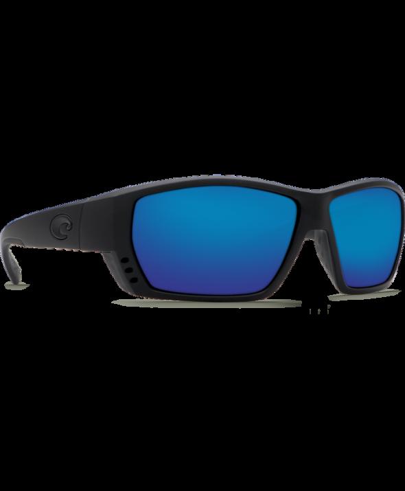 Costa Del Mar Tuna Alley Blackout/Blue Mirror 580G Sunglasses</a>