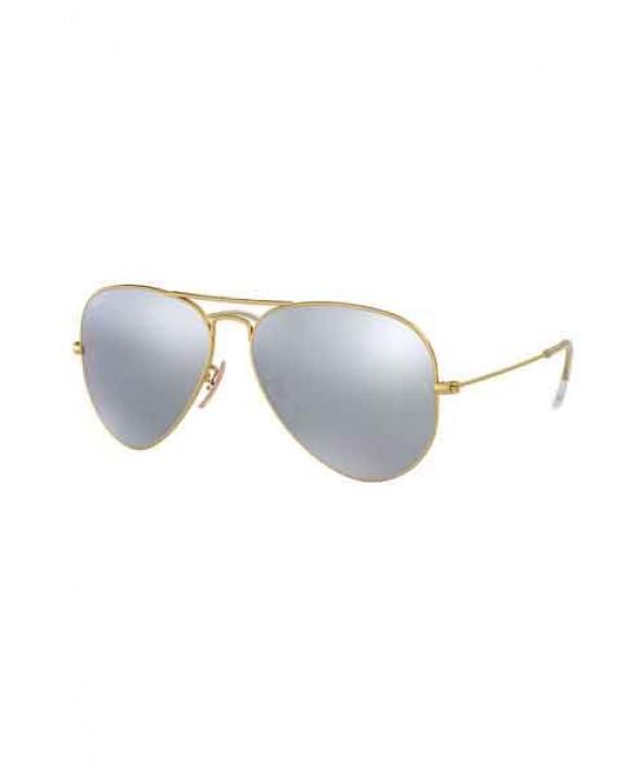 Ray Ban Aviator Flash Gold Silver Flash Polarized Sunglasses</a>