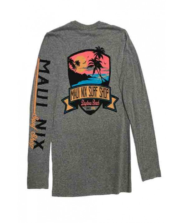 Maui Nix Twilight Beach Long Sleeve Tee