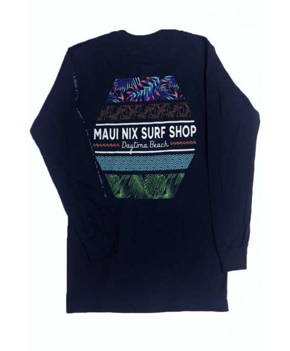 Maui Nix MOTIF LONG SLEEVE TEE