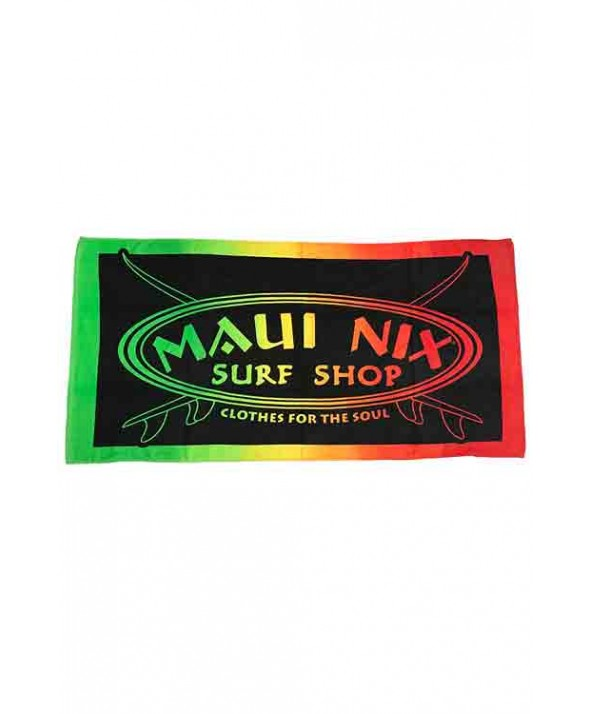 Maui Nix Maui Rasta Beach Towel