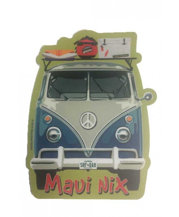 Maui Nix Bus Surf Sticker