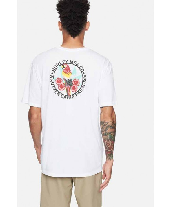 Hurley Men's Everyday Washed Parrot Tee