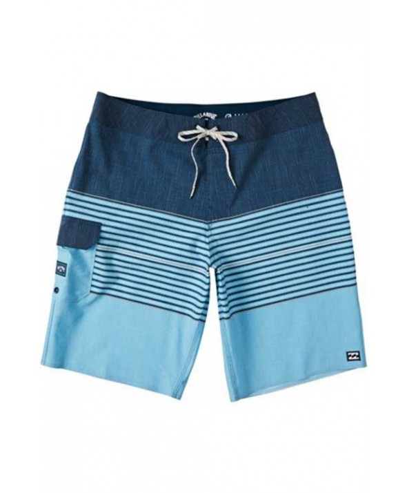 Billabong Men's All Day Heather Stripe Pro Boardshorts