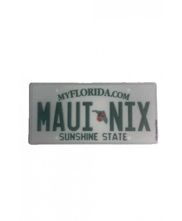 MAUI NIX MINI FLORIDA PLATE STICKER