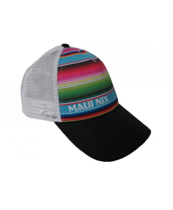 Maui Nix Mexi Stripe Trucker Hat