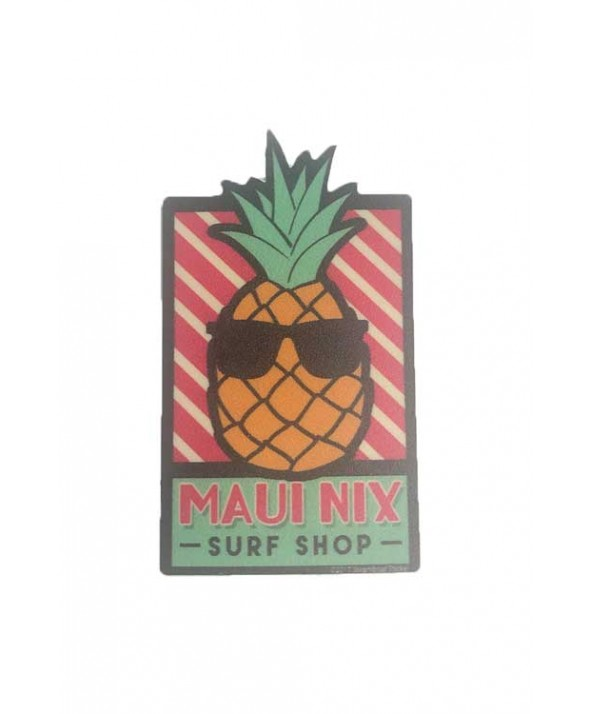 Maui Nix Mini Cool Pineapple Sticker