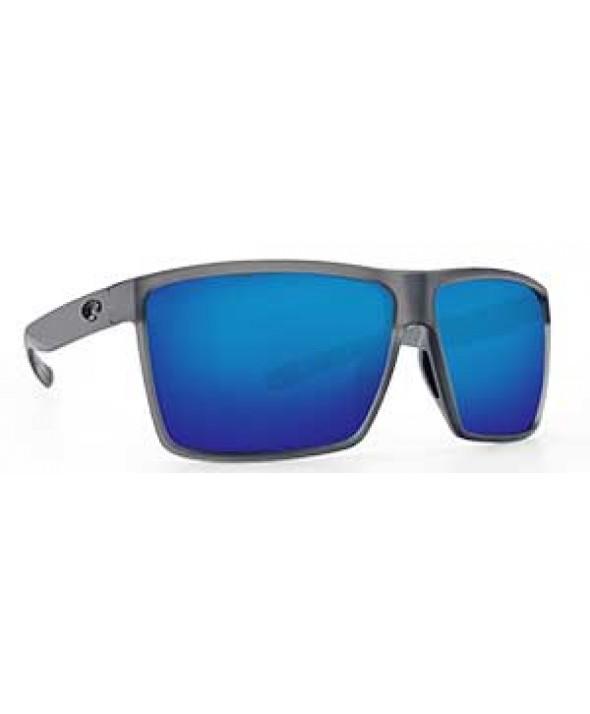 b9551661b88 Costa Del Mar Rincon Matte Smoke Crystal Blue Mirror 580P Polarized  Sunglasses