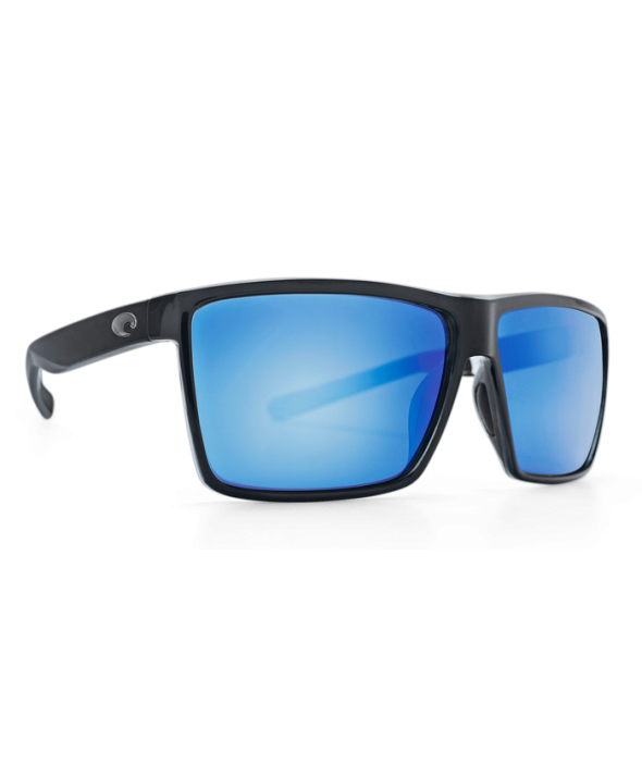 Costa Del Mar Rincon Shiny Black/Blue Mirror 580G Sunglasses