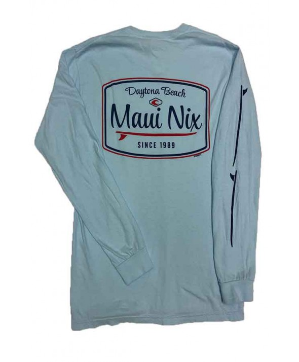 Maui Nix Surfboard Dreamin Long Sleeve Tee