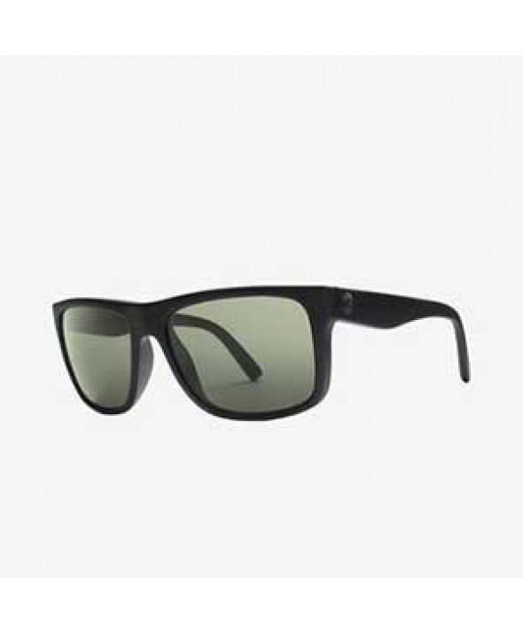 Electric Swingarm Matte Black Gray Polarized Sunglasses