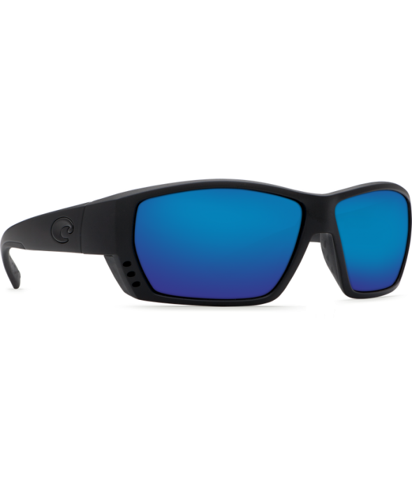 Costa Del Mar Tuna Alley Blackout/Blue Mirror 580G Sunglasses