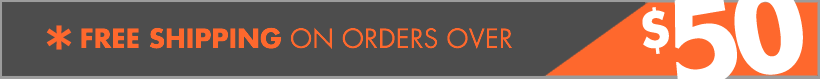 Free Shipping on select orders over $50.00