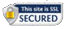 This site is secured but using the latest SSL technology