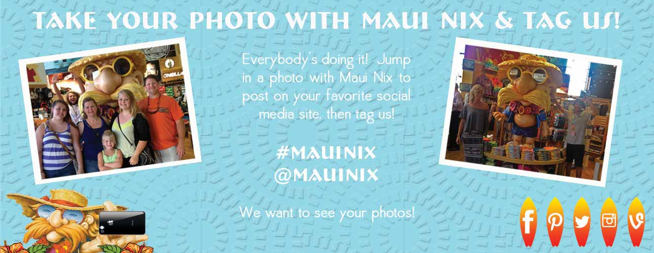 Take a Photo with Maui Nix